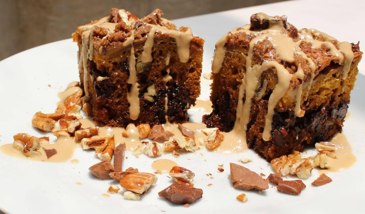 Pumpkin and Chocolate, Coffee Cake
