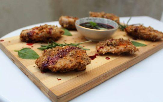 Dukkah and Blueberry Chicken