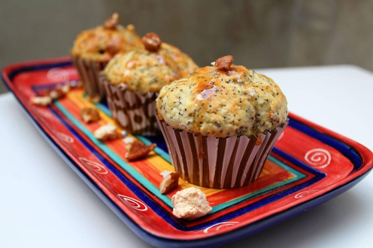 Fancy Lemon and Pop Muffins {Gluten-free}