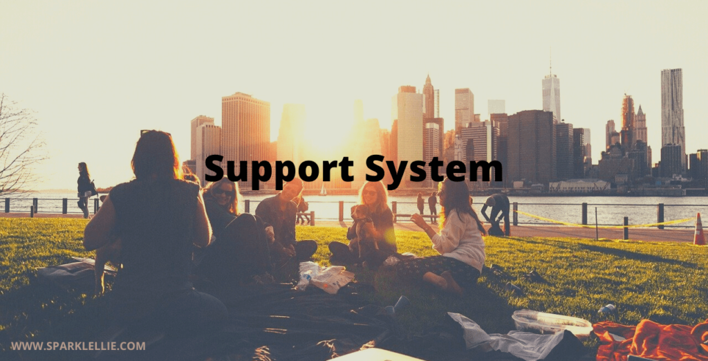 Get your support system to help you against the bully