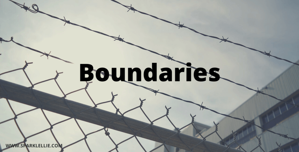 Set boundaries between you and the bully
